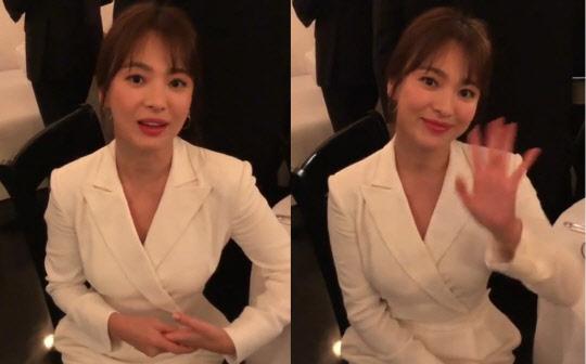 """송혜교 근황, 뉴욕 패션쇼 참석해 """"우아미 발산"""""""